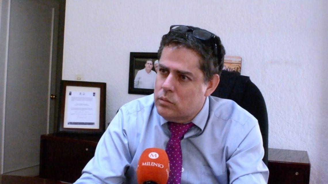 Fidel Giménez-Valdés, secretario de Obras Públicas del gobierno de Morelos, en imagen de archivo. (Foto: David Monroy).