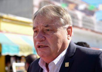 José Manuel Sanz, jefe de la oficina de la gubernatura.