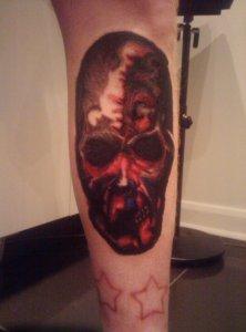 Nick Pinchy's Autumn tattoo