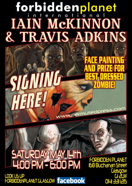 Iain McKinnon and Travis Adkins joint book signing
