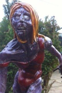The Swimmer - sculpted by Patrick Crilley