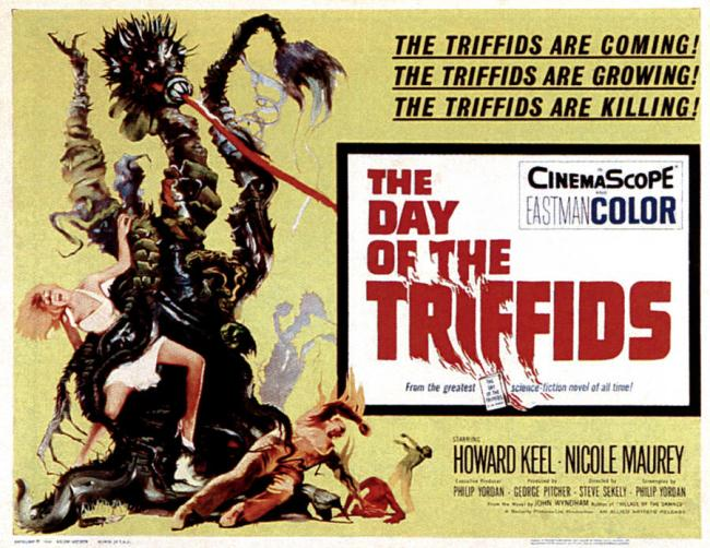 The Day of the Triffids (1963) movie poster