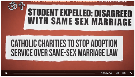 Catholic charities to stop adoption service over same-sex marriage law