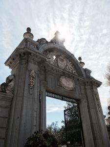 La puerta de Felipe IV en el Retiro