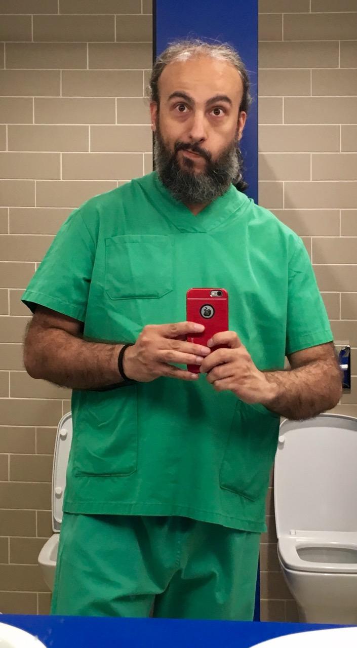 Vestido para quirófano