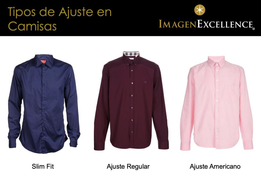 Tipos de corte camisas hombres