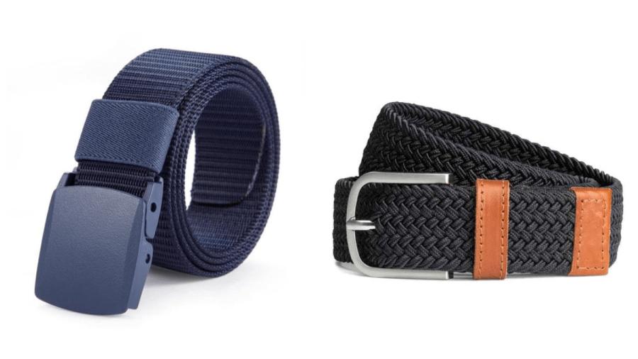 Cinturon casual de tela