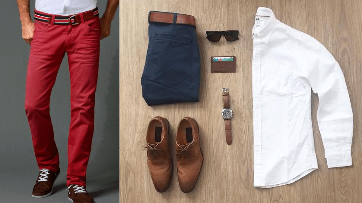 Hombres: 3 reglas de imagen del cinturón casual 1