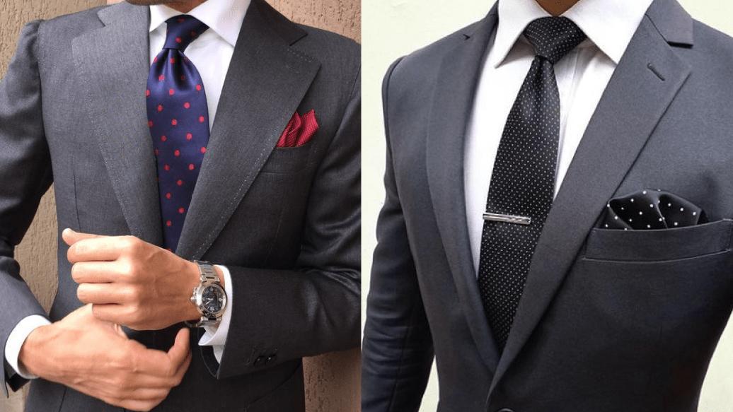 Cómo combinar un Traje Gris de hombre con elegancia 1