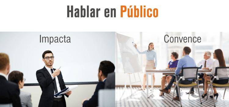 Hablar en público. Aprende oratoria. Presentaciones efectivas. Presentaciones Ejecutivas.
