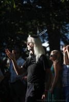 Vancouver Folk Music Festival - meditation in the audience