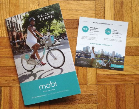 Welcome to Mobi - Bikes We Share