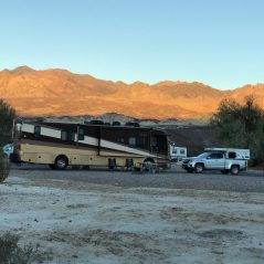 Our spot at Furnace Creek Campground