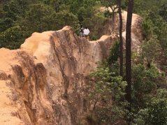 Navigating narrow ridges