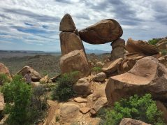 Balanced Rock at Grapevine Hills