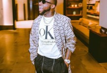 Davido is bald
