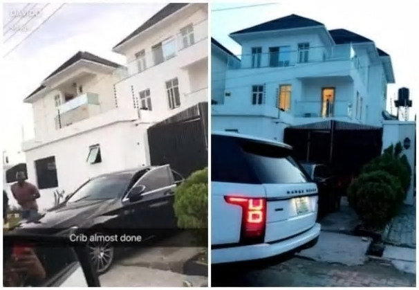 Davido House Address In Lekki Lagos