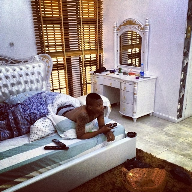 inside of wizkid house picture