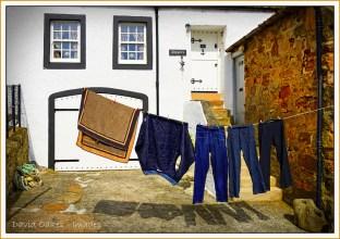 Crail, Fife. Wash-day