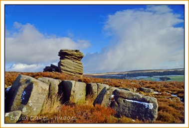 Mother Cap Tor on Hathersage Moor 2