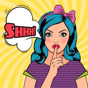 Quiet Please Pop Art Woman, Austin Seferian-Jenkins DUI blog