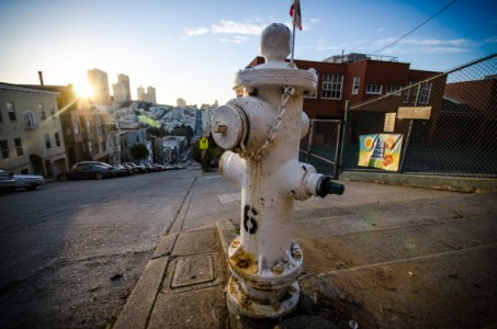 Hydrant: Below Coit