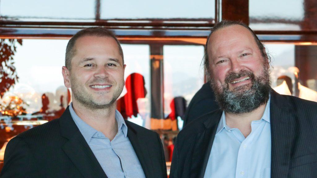 Brad et David à Monaco, juillet 2021