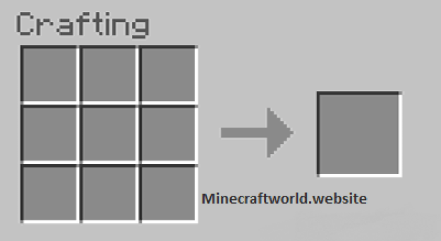 open the crafting menu