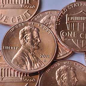 pennies picture