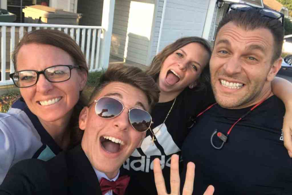 David Pasqualone's Family