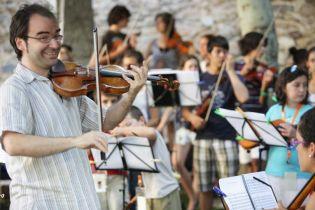 David Peralta Alegre, violinista, social media manager para el sector cultural