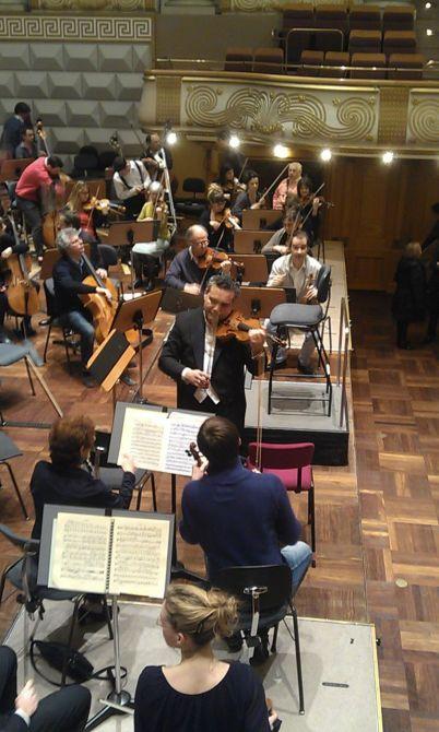 ico en la Orquesta Filarmónica de Holanda