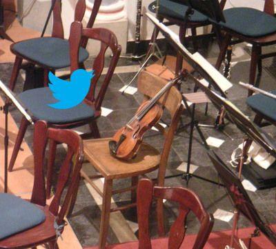En Twitter el público lleva la batuta, no la orquesta
