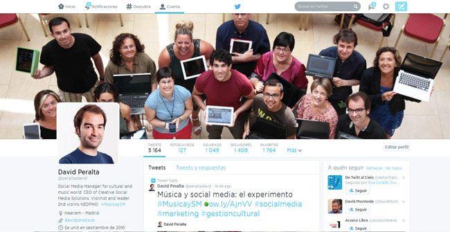 metricas de twitter bio
