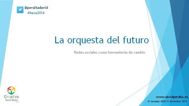 La orquesta del futuro redes sociales