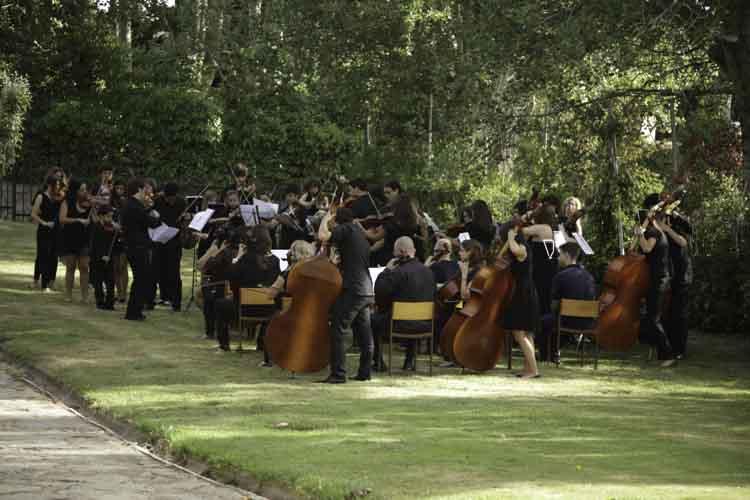 Tocar en orquesta educación musical