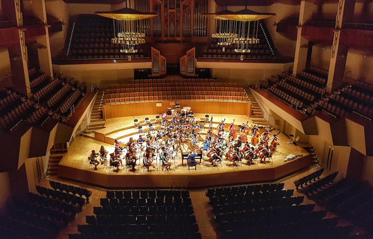 La Joven Orquesta Nacional de España (JONDE) y el músico del futuro en A Coruña