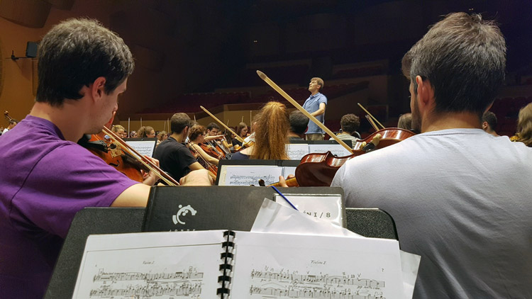 Mi experiencia con la Joven Orquesta Nacional de España: redes sociales y música