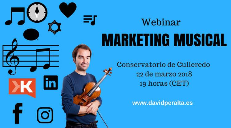 Webinar conservatorio culledero marketing en redes sociales para músicos