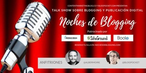 noches de blogging