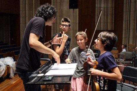 rco young educación musical orquestal