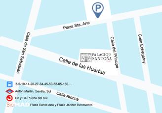 Mapa Palacio Santona cultura 4.0