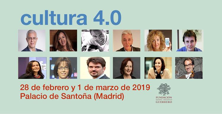 CUltura 4.0 Fundación Guerrero Madrid 2019