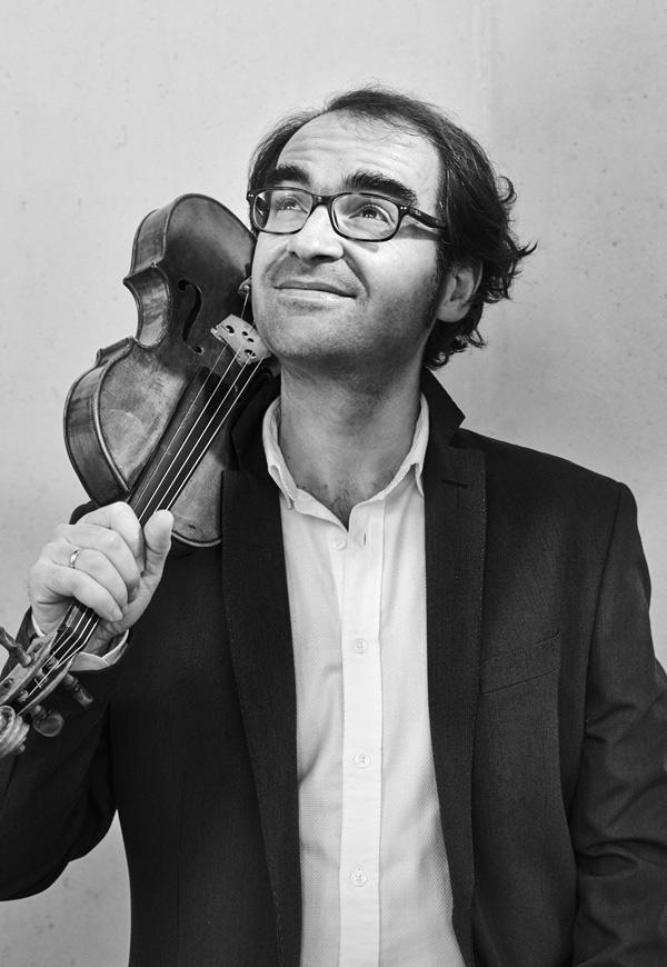David Peralta Alegre violinista