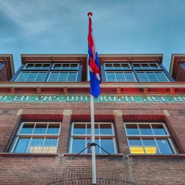Fachada RCO House en Amsterdam