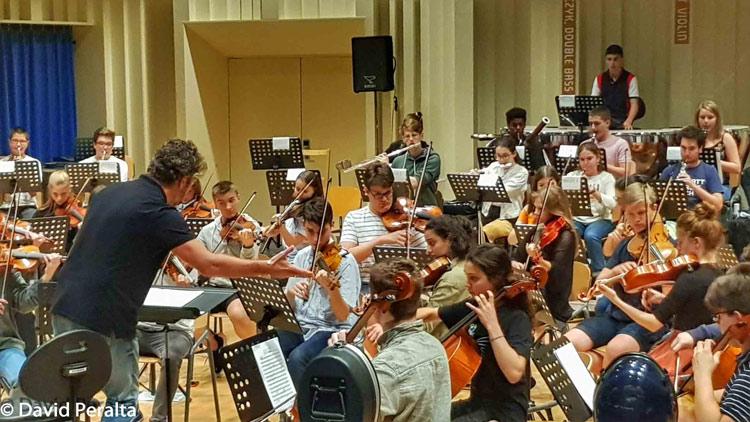 Ensayo con Pablo Heras Casado ConcertgebouwOrkestYoung