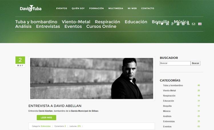 Blog de educacion musical dedicado a la tuba y bombardino por David Munoz