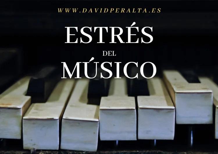 estrés del músico