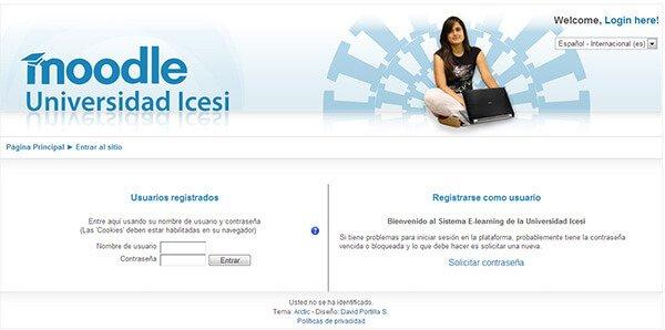 Moodle Universidad Icesi