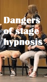 stage hypnosis dangers